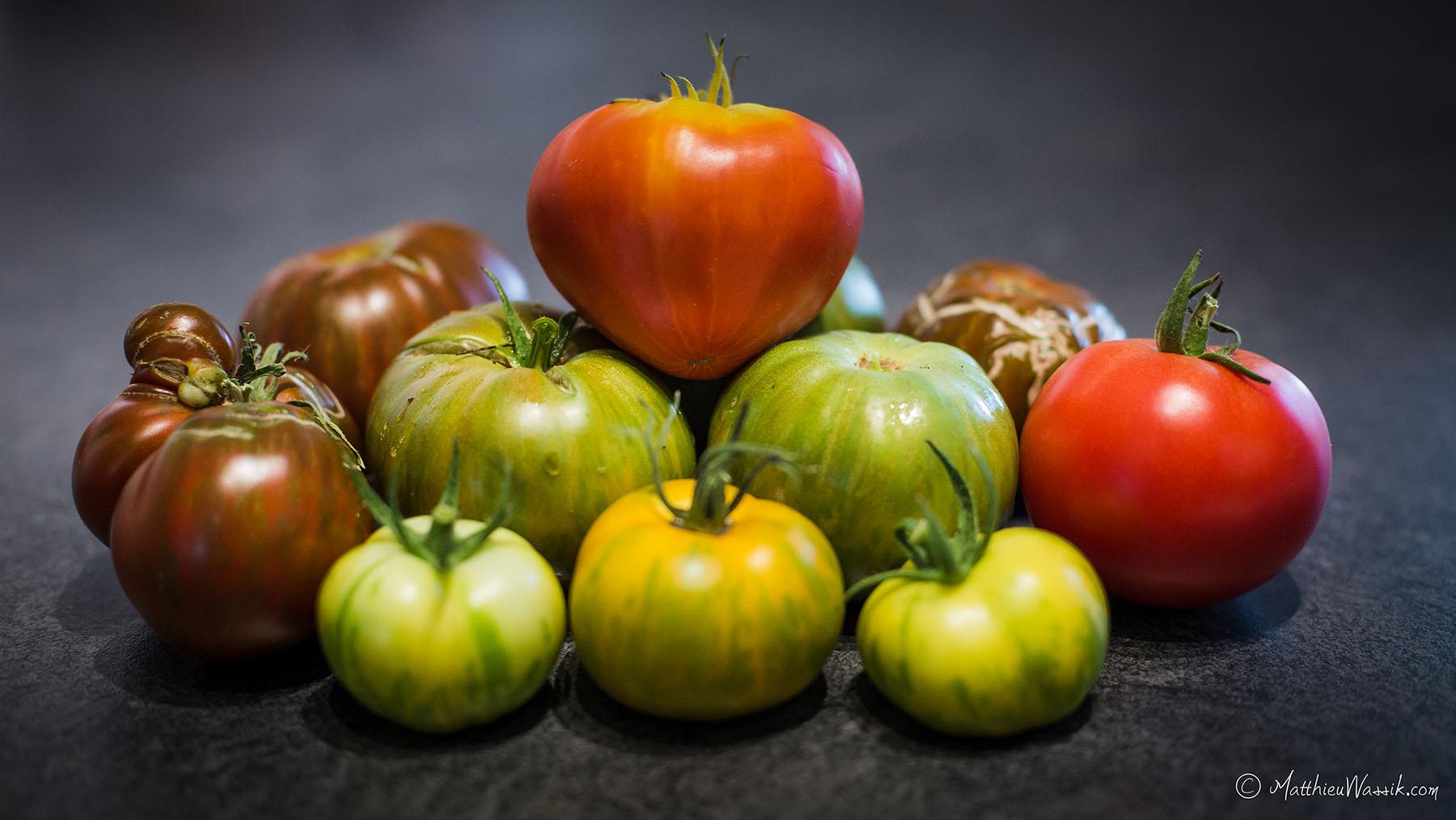 Packshot Tomates