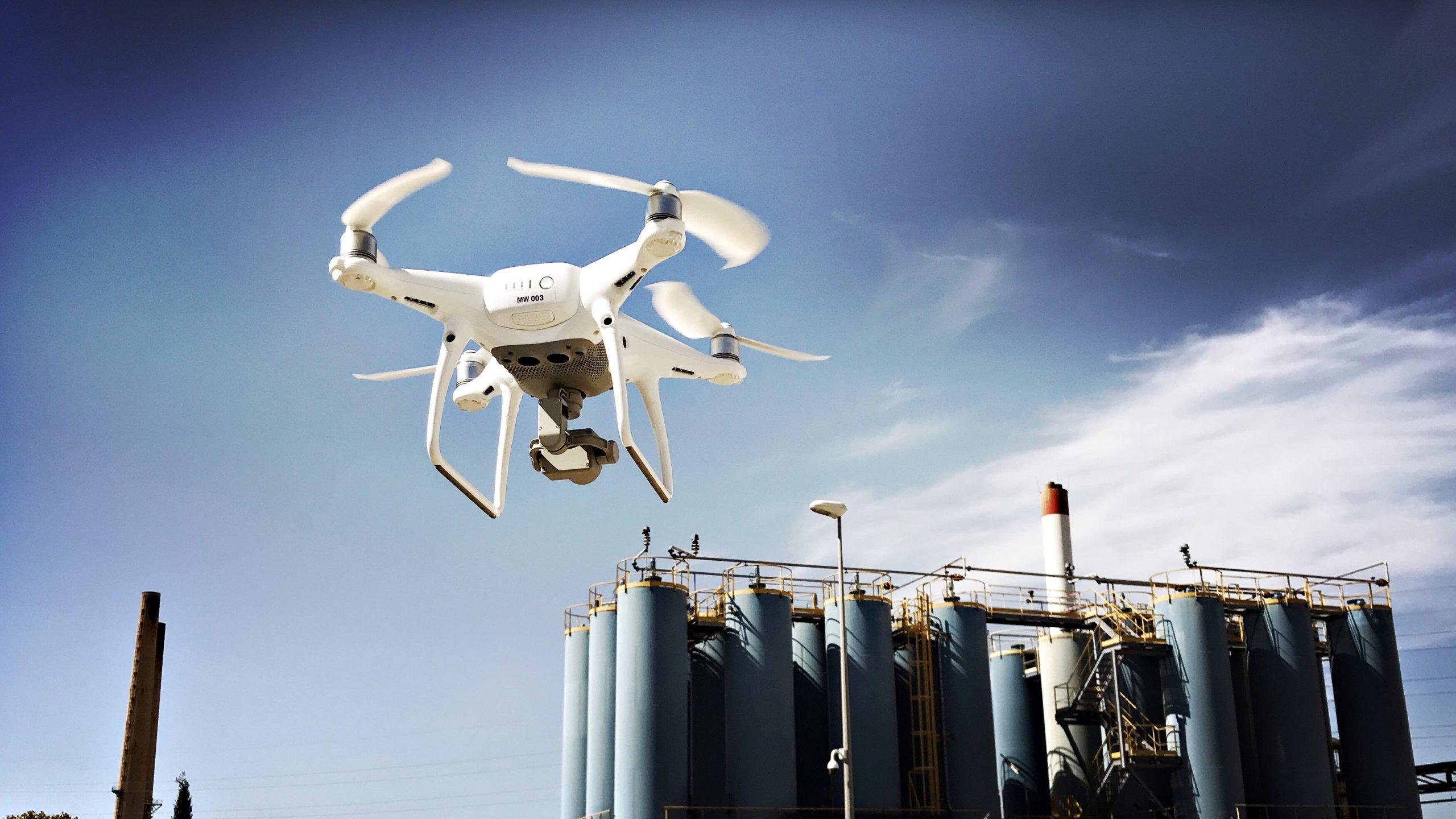 Prendre de la hauteur avec le #drone